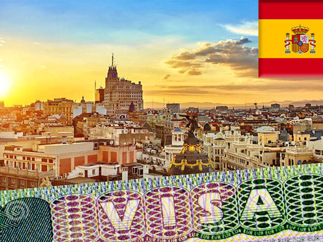виза в испанию 2021